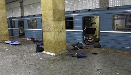Moskova metrosu cehennemi yaşadı galerisi resim 3