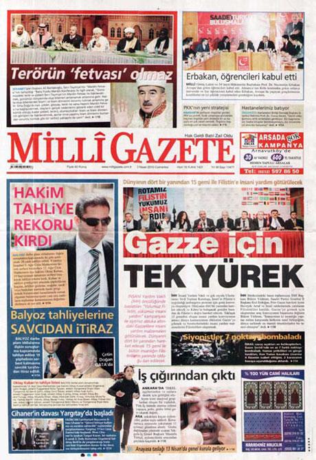 Yeniçağ'dan Erdoğan'ı kızdıran manşet galerisi resim 10