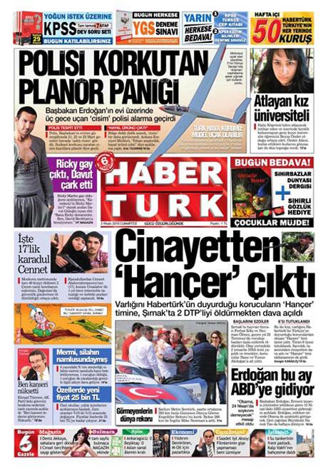 Yeniçağ'dan Erdoğan'ı kızdıran manşet galerisi resim 11