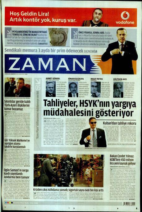 Yeniçağ'dan Erdoğan'ı kızdıran manşet galerisi resim 12