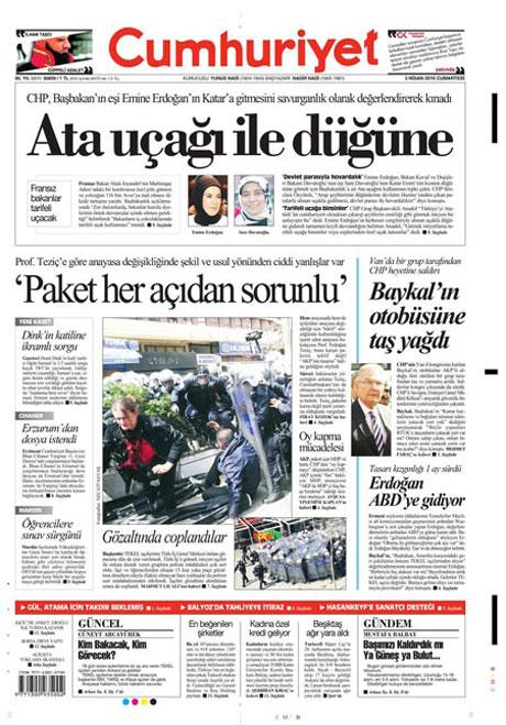 Yeniçağ'dan Erdoğan'ı kızdıran manşet galerisi resim 13