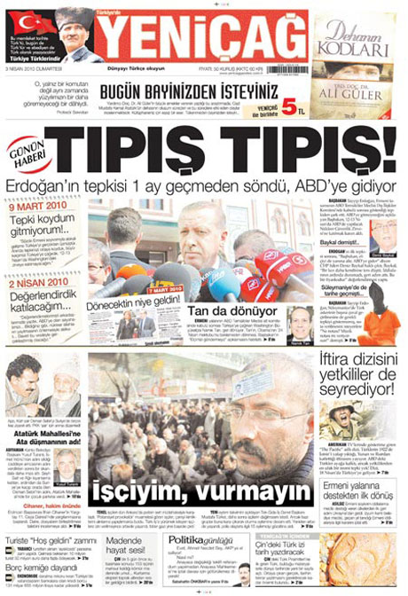 Yeniçağ'dan Erdoğan'ı kızdıran manşet galerisi resim 14