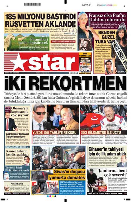 Yeniçağ'dan Erdoğan'ı kızdıran manşet galerisi resim 15