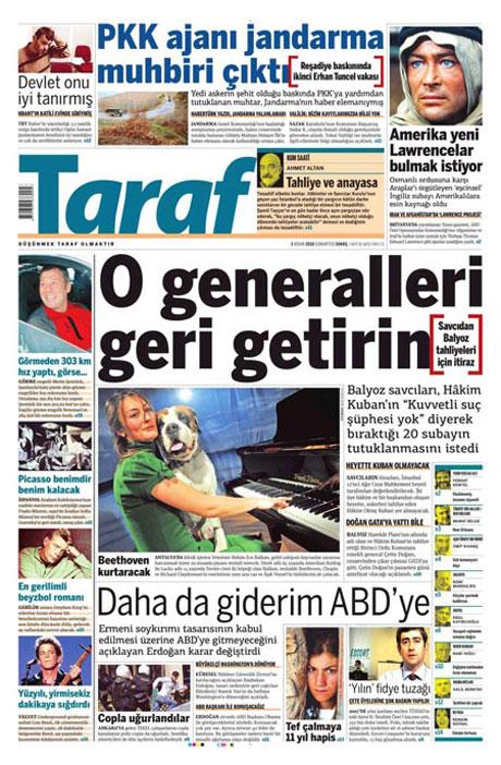 Yeniçağ'dan Erdoğan'ı kızdıran manşet galerisi resim 16