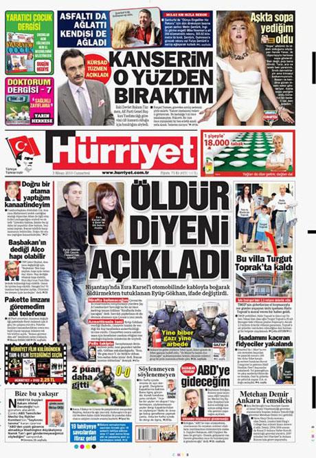 Yeniçağ'dan Erdoğan'ı kızdıran manşet galerisi resim 18