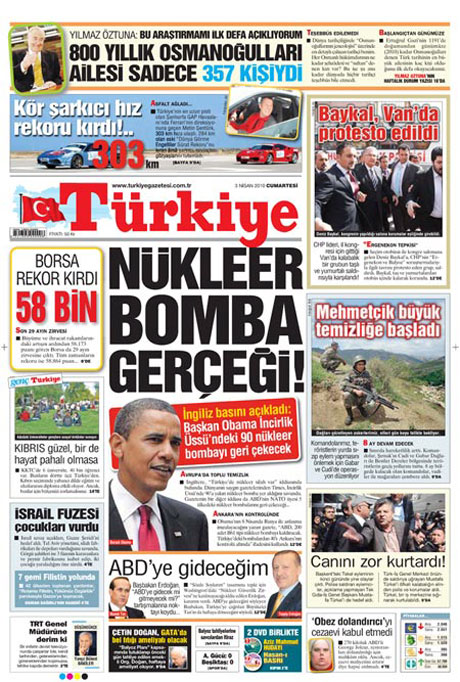 Yeniçağ'dan Erdoğan'ı kızdıran manşet galerisi resim 19