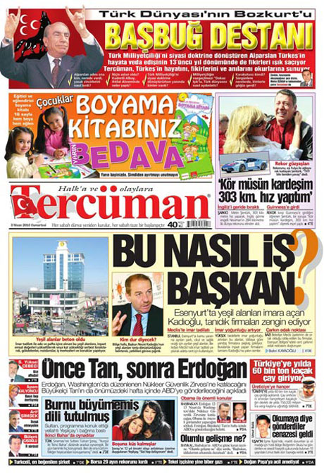Yeniçağ'dan Erdoğan'ı kızdıran manşet galerisi resim 20