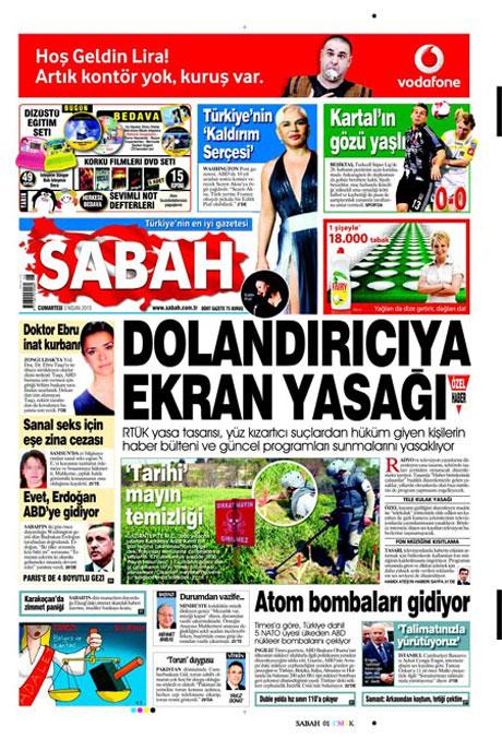 Yeniçağ'dan Erdoğan'ı kızdıran manşet galerisi resim 23