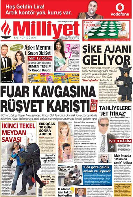Yeniçağ'dan Erdoğan'ı kızdıran manşet galerisi resim 24