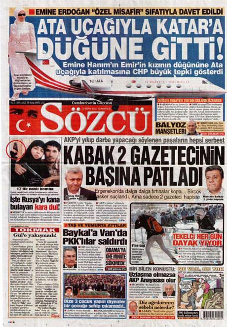 Yeniçağ'dan Erdoğan'ı kızdıran manşet galerisi resim 3
