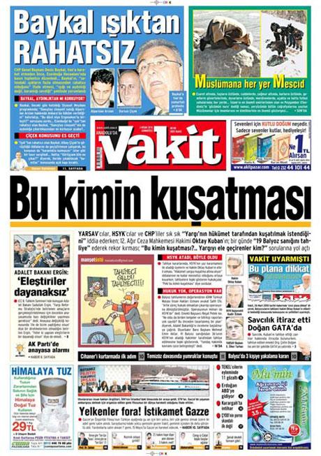 Yeniçağ'dan Erdoğan'ı kızdıran manşet galerisi resim 5