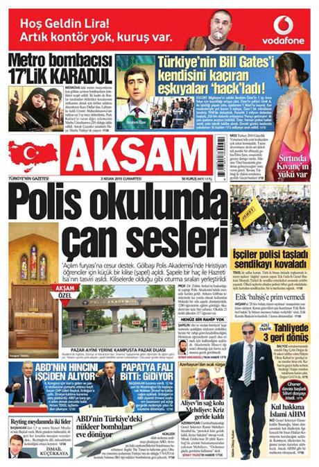 Yeniçağ'dan Erdoğan'ı kızdıran manşet galerisi resim 6