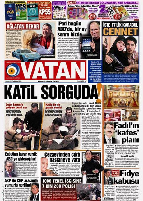 Yeniçağ'dan Erdoğan'ı kızdıran manşet galerisi resim 8