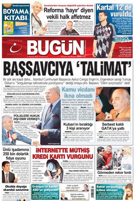 Yeniçağ'dan Erdoğan'ı kızdıran manşet galerisi resim 9