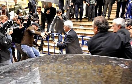 Ahmet Türk'e ırkçı saldırı galerisi resim 23