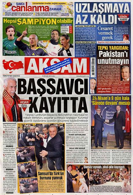 Gazeteler Türk'e saldırıyı nasıl gördü? galerisi resim 1