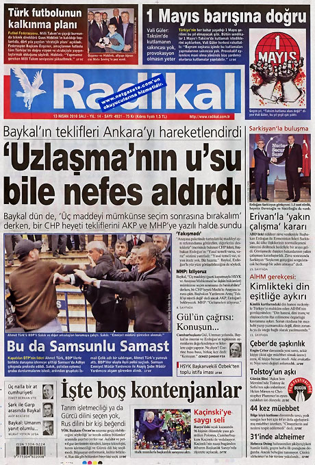 Gazeteler Türk'e saldırıyı nasıl gördü? galerisi resim 10