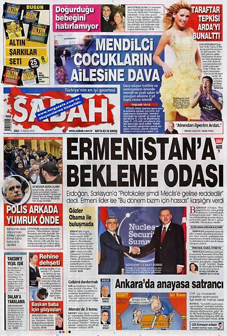 Gazeteler Türk'e saldırıyı nasıl gördü? galerisi resim 11
