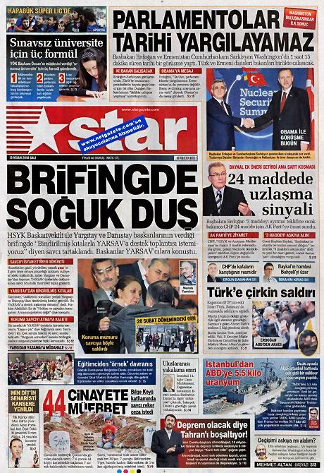 Gazeteler Türk'e saldırıyı nasıl gördü? galerisi resim 13