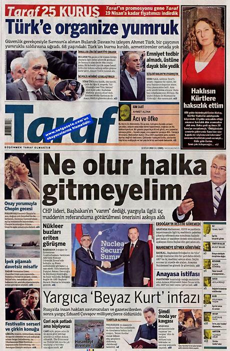 Gazeteler Türk'e saldırıyı nasıl gördü? galerisi resim 15