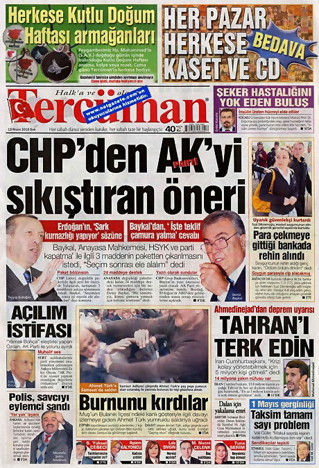 Gazeteler Türk'e saldırıyı nasıl gördü? galerisi resim 16