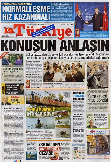Gazeteler Türk'e saldırıyı nasıl gördü? galerisi resim 17