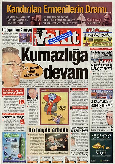 Gazeteler Türk'e saldırıyı nasıl gördü? galerisi resim 18