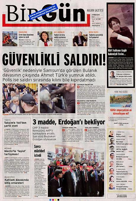 Gazeteler Türk'e saldırıyı nasıl gördü? galerisi resim 2