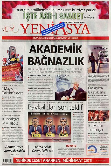 Gazeteler Türk'e saldırıyı nasıl gördü? galerisi resim 20