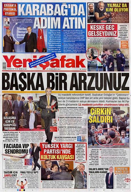 Gazeteler Türk'e saldırıyı nasıl gördü? galerisi resim 21