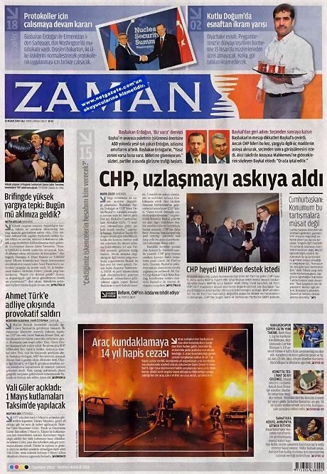 Gazeteler Türk'e saldırıyı nasıl gördü? galerisi resim 22