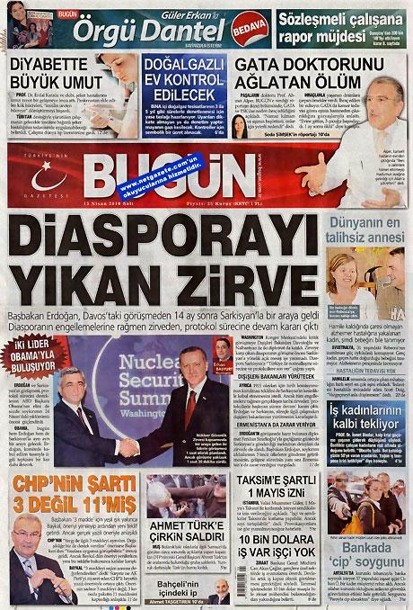 Gazeteler Türk'e saldırıyı nasıl gördü? galerisi resim 3