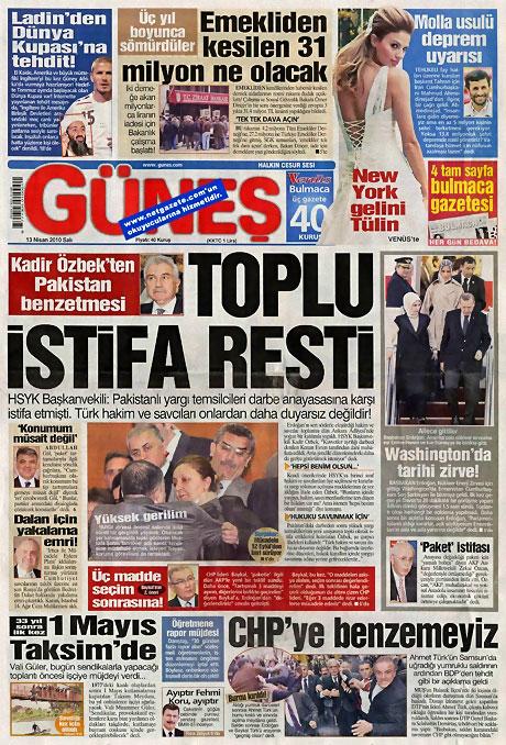 Gazeteler Türk'e saldırıyı nasıl gördü? galerisi resim 4