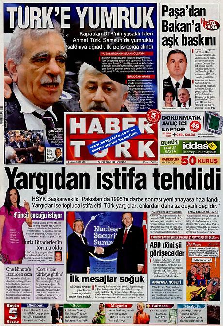 Gazeteler Türk'e saldırıyı nasıl gördü? galerisi resim 5