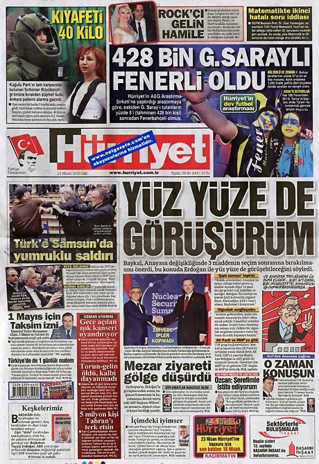 Gazeteler Türk'e saldırıyı nasıl gördü? galerisi resim 6