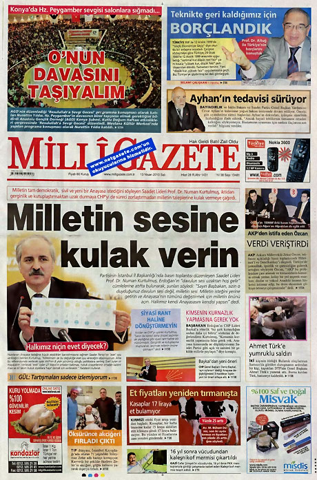 Gazeteler Türk'e saldırıyı nasıl gördü? galerisi resim 7