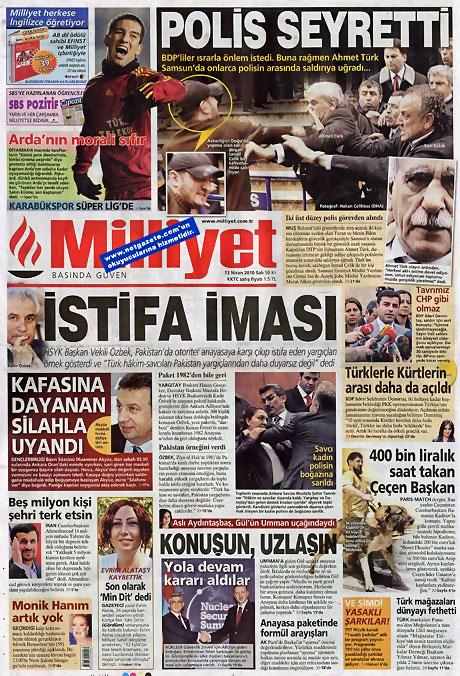 Gazeteler Türk'e saldırıyı nasıl gördü? galerisi resim 8