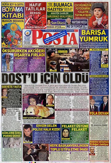 Gazeteler Türk'e saldırıyı nasıl gördü? galerisi resim 9