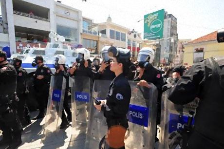 Taksim'de Binler Türk'e Saldırıyı kınadı galerisi resim 10