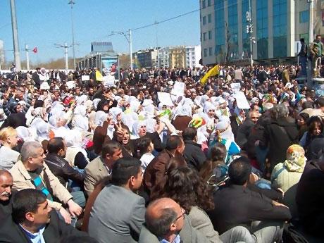 Taksim'de Binler Türk'e Saldırıyı kınadı galerisi resim 13