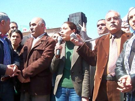 Taksim'de Binler Türk'e Saldırıyı kınadı galerisi resim 22