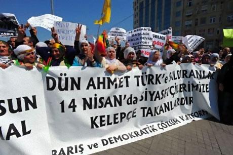 Taksim'de Binler Türk'e Saldırıyı kınadı galerisi resim 4