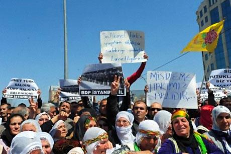 Taksim'de Binler Türk'e Saldırıyı kınadı galerisi resim 6