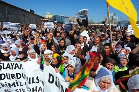 Taksim'de Binler Türk'e Saldırıyı kınadı galerisi resim 7