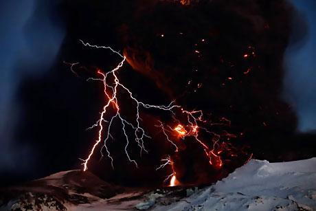 Eyjafjoll Yanardağı'nın korkunç yüzü galerisi resim 33