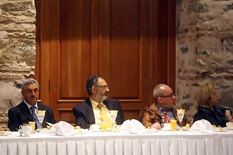 Başbakan yazarlarla açılımı konuştu galerisi resim 28