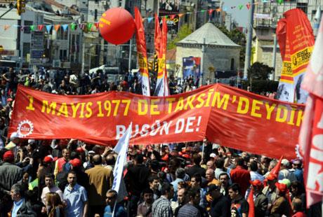 32 yıl sonra 1 Mayıs İşçi bayramı! galerisi resim 3