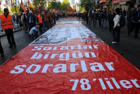 32 yıl sonra 1 Mayıs İşçi bayramı! galerisi resim 8
