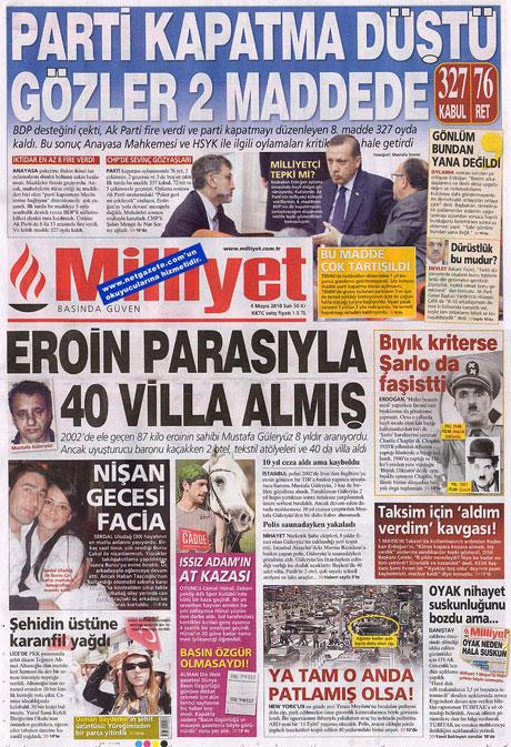 Gazetelerden çarpıcı FİRE manşetleri galerisi resim 10