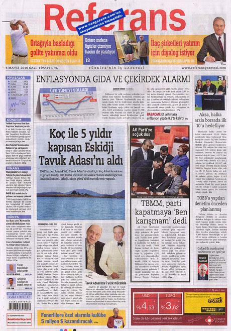 Gazetelerden çarpıcı FİRE manşetleri galerisi resim 13